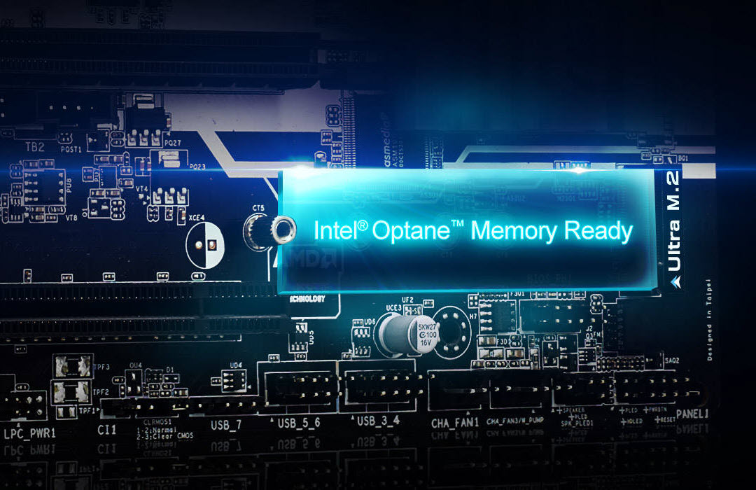 Intel Optane Memory installed on ASRock B365M-HDV motherboard