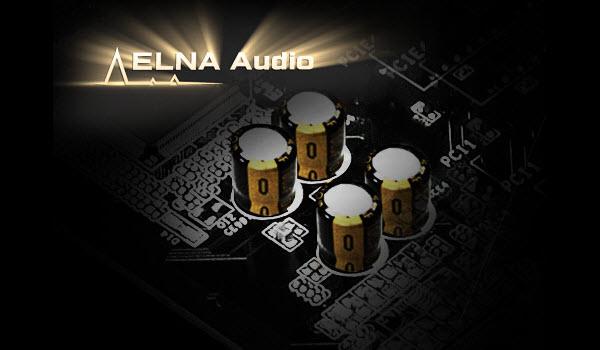 four ELNA audio caps
