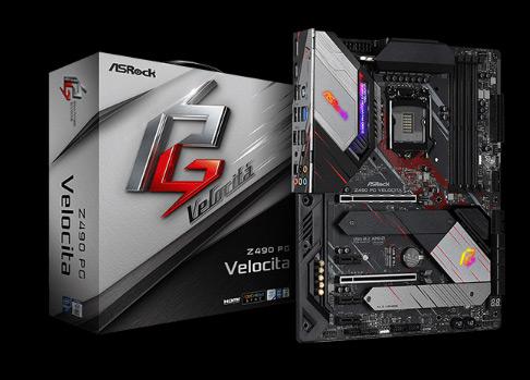 Z490-PG-Velocita motherboard