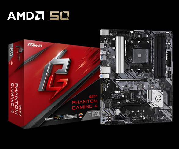 B550 Phantom Gaming 4 motherboard