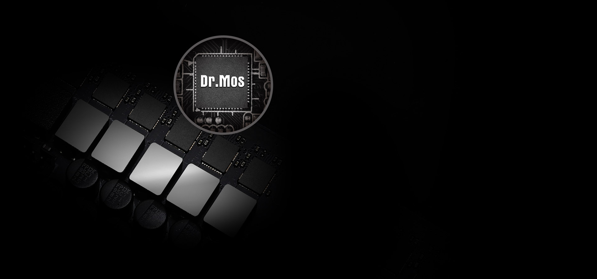 DrMOS-B550 of the motherboard