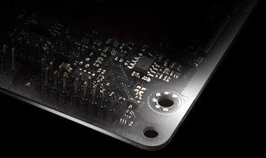 SA-BlackPCB of the motherboard