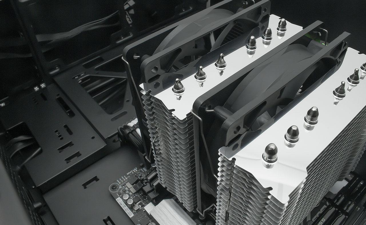 Scythe FUMA Rev  B CPU Cooler (SCFM-1100) - Newegg com