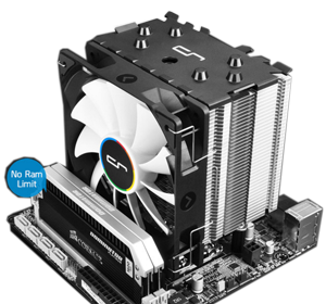 Cryorig H7 Tower Cooler For Amd Intel Cpu With 120mm Pwm Fan