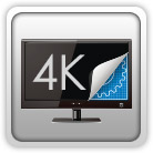 Quad HD display support (4K Support)
