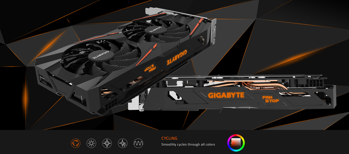 GIGABYTE Radeon RX 580 DirectX 12 GV-RX580GAMING-8GD Video Card - Newegg com