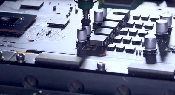 close look at the Auto-Extreme Technology manufacturing