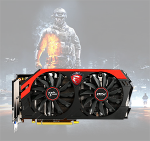 Gaming series graphics card