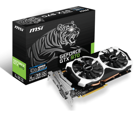 MSI GeForce GTX 970 4GD5T OC - Newegg com