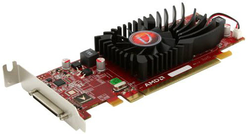 AMD Radeon HD 5450 Side View