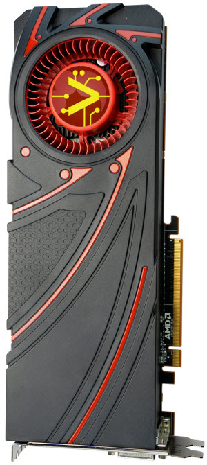 RADEON R9 290 Top View