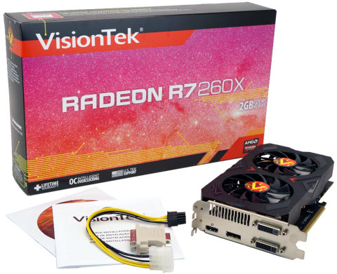 RADEON R7 260X - What's in the Box