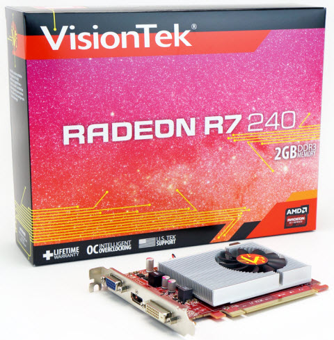 RADEON R7 240 - What's in the Box