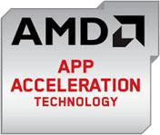 Aceleración de aplicaciones AMD