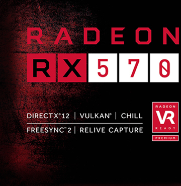 Details about PowerColor RED DRAGON Radeon RX 570 DirectX 12 AXRX 570  4GBD5-3DHD/OC 4GB 256-Bi