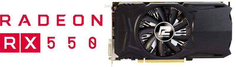 Powercolor Red Dragon Radeon Rx 550 Directx 12 Axrx 550 2gbd5 Dh Oc Video Card Newegg Com