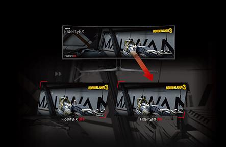 Liquid Devil Radeon RX 5700 XT FidelityFX show