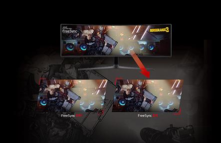 Liquid Devil Radeon RX 5700 XT FreeSync on three monitors