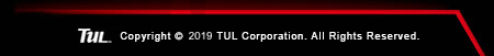 Red line and TUL corporation icon