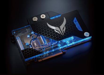 Liquid Devil Radeon RX 5700 XT side view and offers a better color range