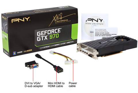 PNY GeForce GTX 970 DirectX 12 VCGGTX9704XPB Video Card (G-SYNC Support) -  Newegg com