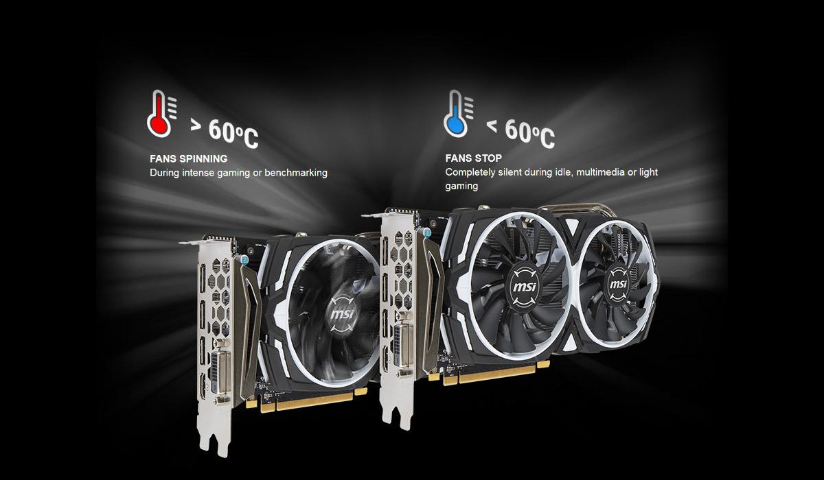 MSI Radeon RX 570 DirectX 12 RX 570 ARMOR 4G OC Video Card - Newegg com
