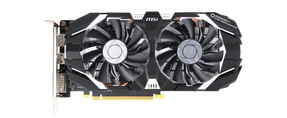 USED office pull MSI Computer GTX 1060 3GT OC NVIDIA GeForce 3GB GDDR5