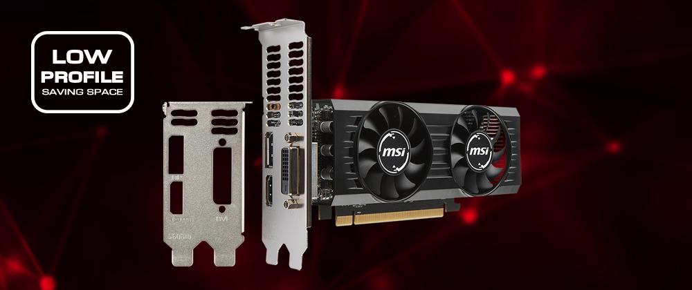 MSI Radeon RX 560 DirectX 12 Radeon RX 560 4GT LP OC Video Card - Newegg com