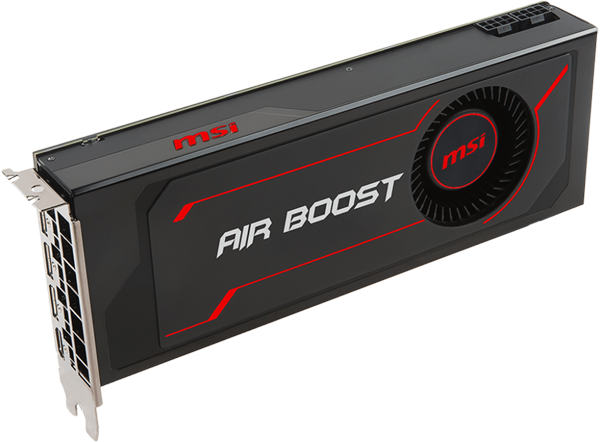 MSI Radeon RX Vega 64 DirectX 12 Radeon RX Vega 64 Air Boost 8G OC Video  Card - Newegg com
