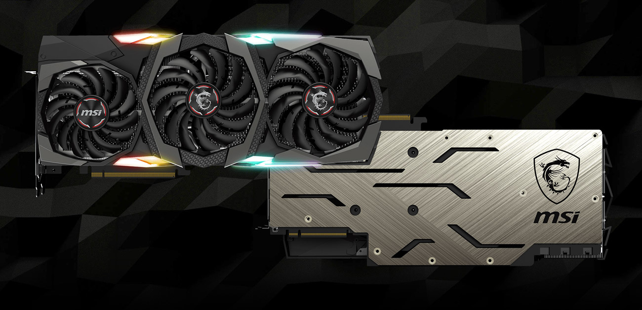 MSI GeForce RTX 2080 GAMING X TRIO Video Card 8GB 256-Bit GDDR6