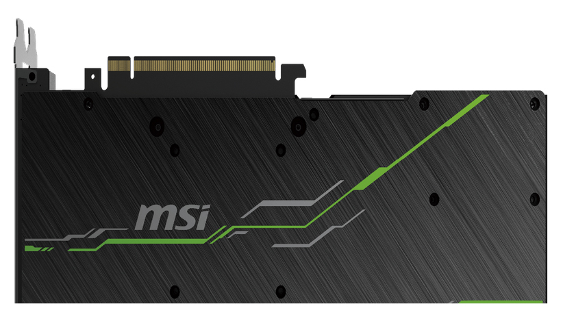 MSI GeForce RTX 2080 VENTUS 8G OC Graphics Card's Backplate