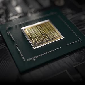 NVIDIA Turing GPU Closeup Shot