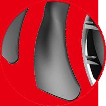 Closeup of Dispersion Fan Blade