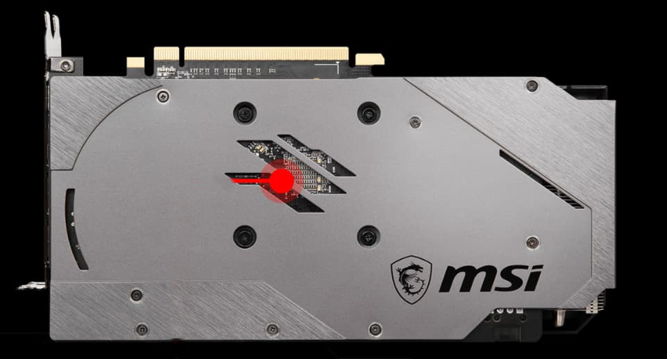 The backplate has thermal pads shown in detail.