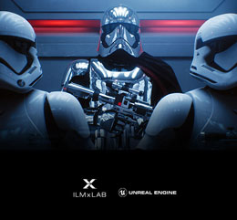 Stormtroopers from Star Wars, with armor and helmet reflecting ambient light