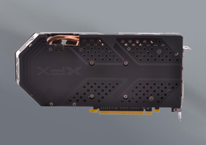 XFX RX-580P427D6 RX 580 4GB OC 1386MHz DDR5 w//Backplate 3xDP HDMI DVI Graphics*