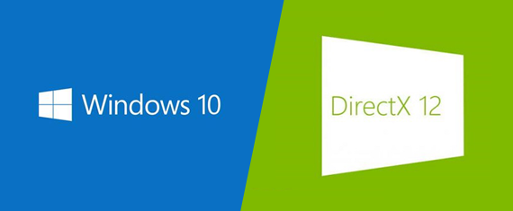 Windows 10 and DirectX 12 logos