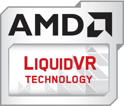 AMD Liquid VR technology logo