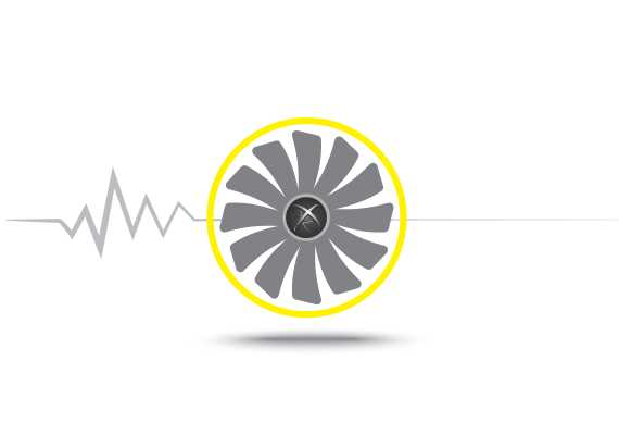 a fan icon and dual bios mark