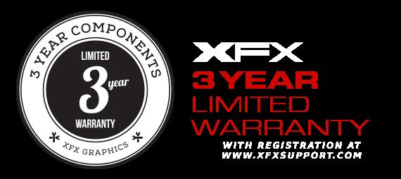 XFX 3 Year Warranty icon