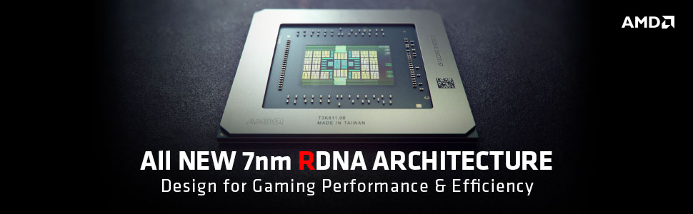 the banner of AMD RDNA Architecture