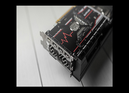 SAPPHIRE PULSE RX 580 8G G5 Backplate view