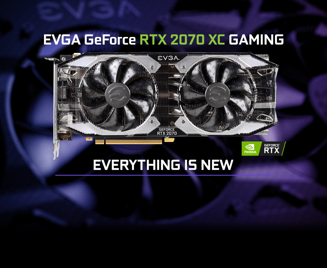 EVGA GeForce RTX 2070 XC GAMING, 08G-P4-2172-KR, 8GB GDDR6, Dual HDB Fans &  RGB LED - Newegg com
