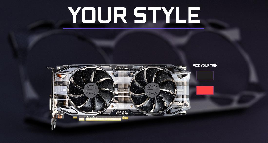 EVGA GeForce RTX 2070 Black GAMING, 08G-P4-1071-KR, 8GB GDDR6, Dual HDB  Fans - Newegg com