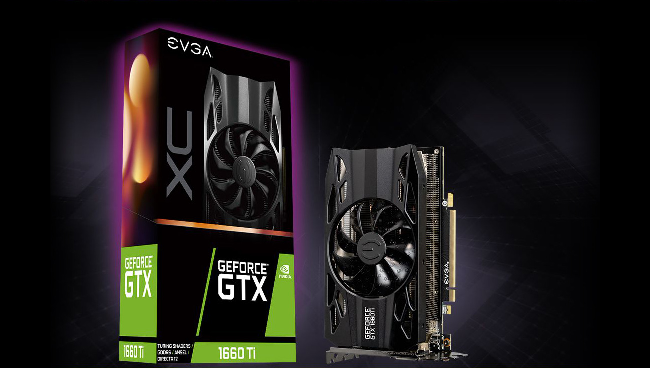 EVGA GeForce GTX 1660 Ti XC GAMING, 06G-P4-1263-KR, 6GB GDDR6, HDB Fan -  Newegg com