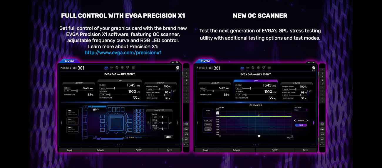 FULL CONTROL WITH EVGA PRECISION X1, NEW OC SCANNER