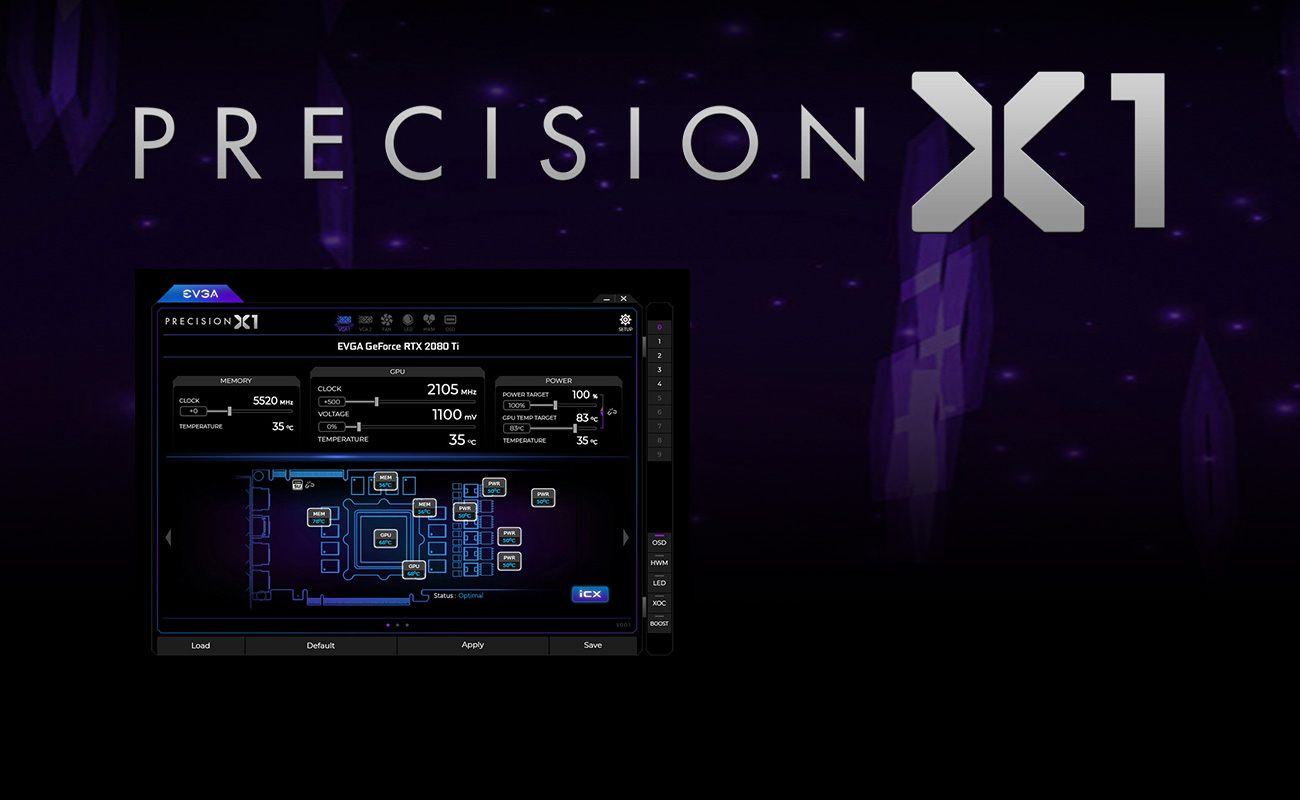 screenshot of precision X1