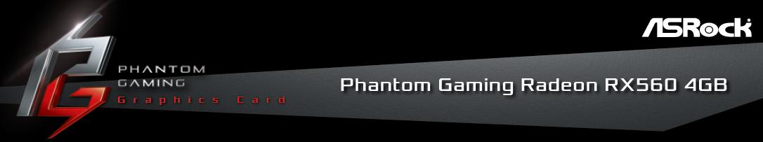 ASRock Phantom Gaming Radeon RX 560 DirectX 12 RX560 4G Video Card -  Newegg com