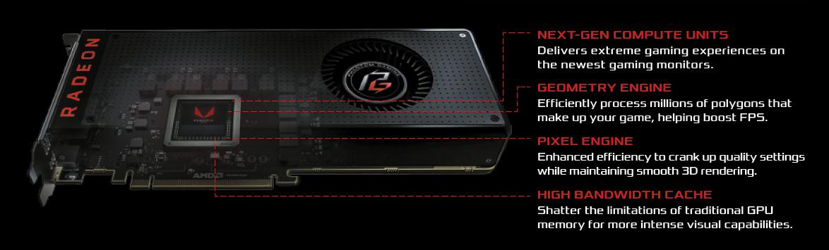 ASRock Phantom Gaming X Radeon RX Vega 56 DirectX 12 RX VEGA 56 8G Video  Card - Newegg com