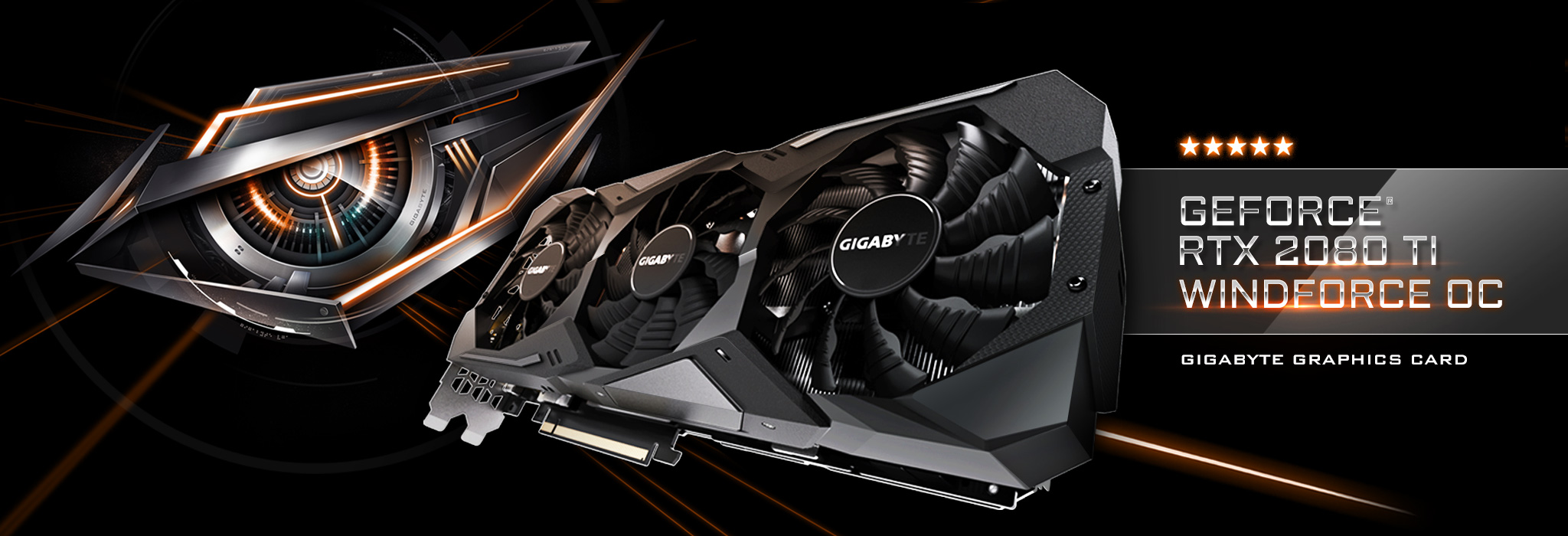 GIGABYTE GeForce RTX 2080 Ti GAMING OC 11G Graphics Card, 3 x WINDFORCE  Fans, 11GB 352-Bit GDDR6, GV-N208TGAMING OC-11GC Video Card - Newegg com